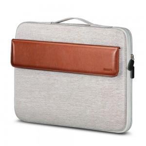 Купить Чехол-сумка ESR Macbook Sleeve Light Gray+Brown 13 inch