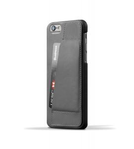 Купить Кожаный чехол с отделением для карт MUJJO Leather Wallet Case 80° iPhone 6/6s Gray (MUJJO-SL-083-GY)