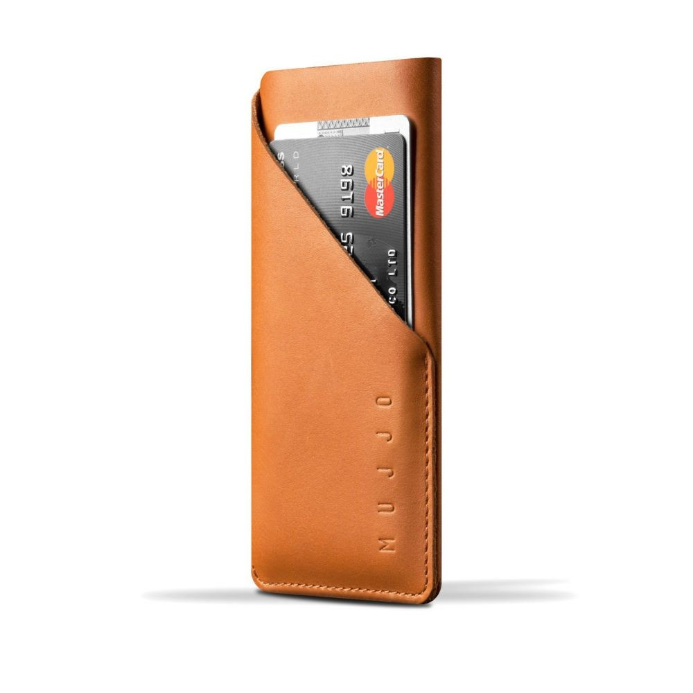 Чехол-карман MUJJO Leather Wallet Sleeve iPhone 8/7 Tan (MUJJO-SL-102-TN)