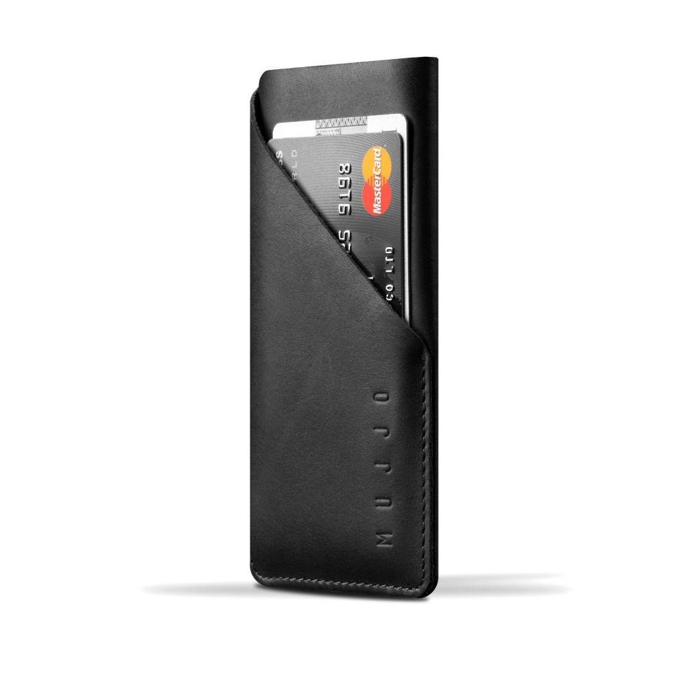 Чехол-карман MUJJO Leather Wallet Sleeve iPhone 8/7 Black (MUJJO-SL-102-BK)