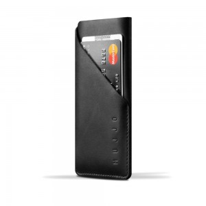 Купить Чехол-карман MUJJO Leather Wallet Sleeve iPhone 8/7 Black (MUJJO-SL-102-BK)