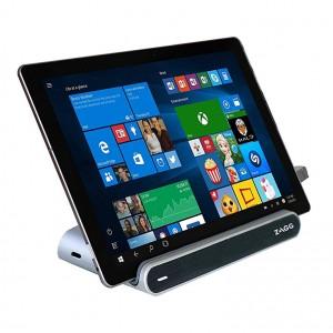 Купить Док-станция с аккумулятором ZAGG Power-Work Station USB-C Desktop Dock Silver (ZGUCCH-WHAU)
