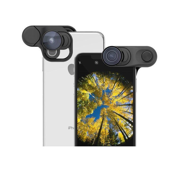 Объектив Olloclip iPhone XS Max Fisheye + Macro Essential and Super-Wide Essential (OC-0000315-EU)