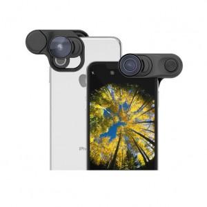 Купить Объектив Olloclip iPhone XS Max Fisheye + Macro Essential and Super-Wide Essential (OC-0000315-EU)