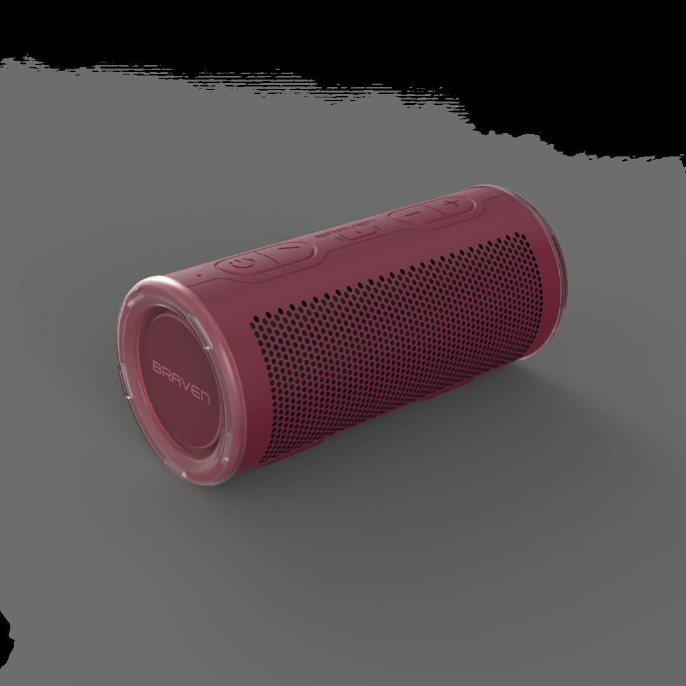 Водонепроницаемая портативная колонка Braven Speaker-BRV-360 Red (604202613)