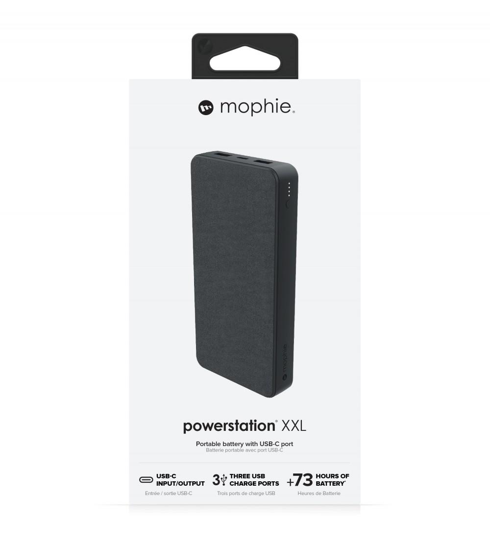Внешний аккумулятор mophie Universal Battery-Powerstation-20K USB-C & USB-A Black (401102987)