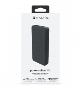 Купить Внешний аккумулятор mophie Universal Battery-Powerstation-20K USB-C & USB-A Black (401102987)