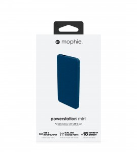 Купить Внешний аккумулятор mophie Universal Battery-Powerstation-5K USB-C & USB-A Navy (401102978)