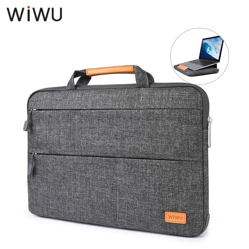 Чехол-сумка WIWU 15.4 Laptop Stand Bag Grey