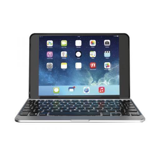 Чехол-клавиатура ZAGG Slim Book для iPad Mini 4 — backlit Black (IM4ZF2-BBU)