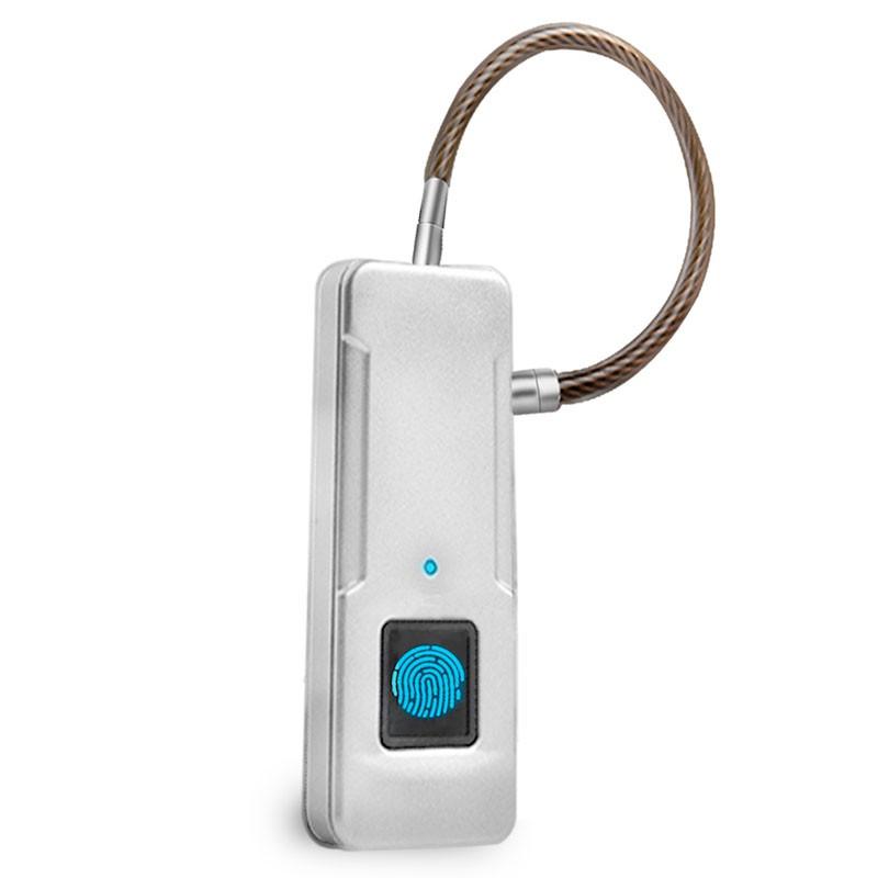 Smart-замок WIWU P4 fingerprint padlock Sliver (P4)