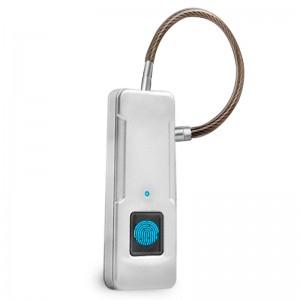 Купить Smart-замок WIWU P4 fingerprint padlock Sliver (P4)
