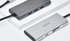 Купить USB-C Хаб WIWU Apollo A731TH Sliver