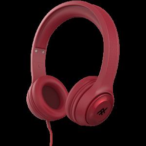 Купить Накладные наушники iFrogz Aurora Wired Headphones с микрофоном Red (IFFAWH-RD0)