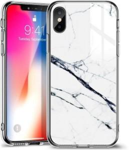 Купить Мраморный чехол ESR Mimic-Marble White iPhone XS/X