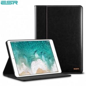 Купить Кожаный чехол с держателем для Apple Pencil ESR Intelligent Black iPad Pro 10.5