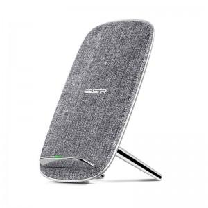 Купить Беспроводная док-станция ESR Lounge Wireless Charger Silver Gray 5W/10W