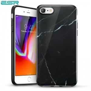 Купить Мраморный чехол ESR Marble Black Sierra iPhone 8/7
