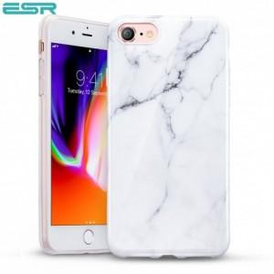 Купить Мраморный чехол ESR Marble White Sierra iPhone 8/7