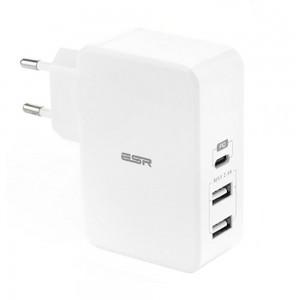 Купить Быстрое зарядное устройство ESR PD Charger EU White 41W  1PD+2USB