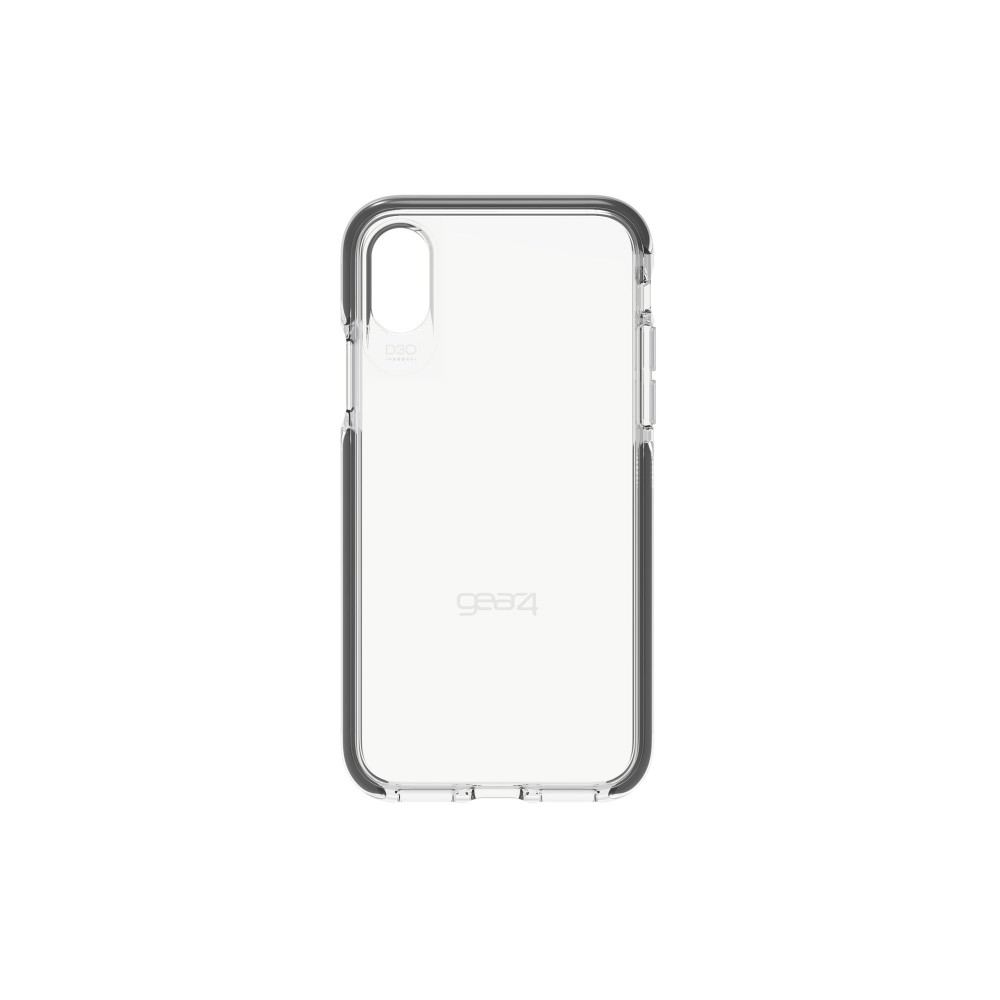 Чехол GEAR4 Piccadilly iPhone X Black (IC8PICBLK)