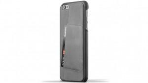 Купить Кожаный чехол с отделением для карт MUJJO Leather Wallet Case 80° iPhone 6 Plus/6s Plus Gray (MUJJO-SL-084-GY)