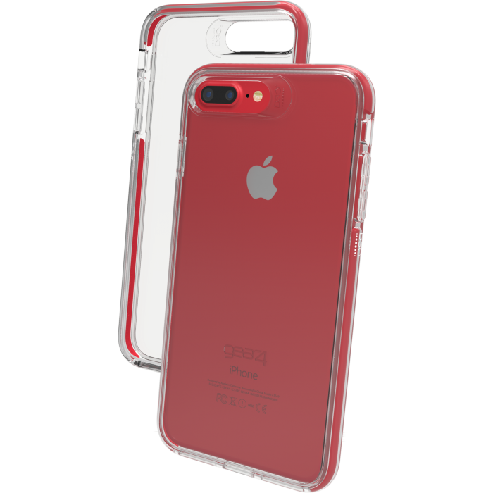 Чехол GEAR4 Piccadilly iPhone 7/8 Plus Red (IC7L86D3)