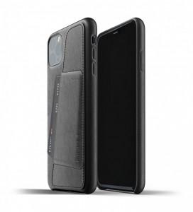 Купить Кожаный чехол с отделением для карт MUJJO Full Leather Wallet Case Black iPhone 11 Pro (MUJJO-CL-002-BK)