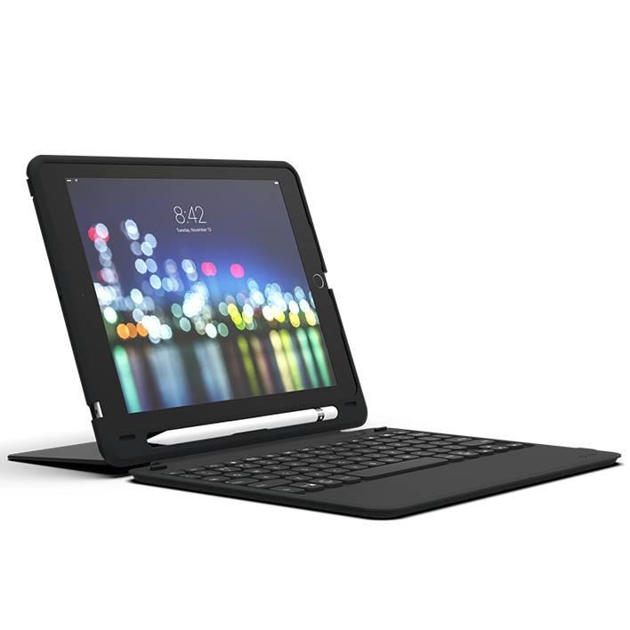 Чехол-клавиатура ZAGG Keyboard - Slim Book Go - Apple-iPad 9.7-UK Black (103302308)