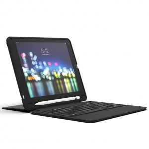 Купить Чехол-клавиатура ZAGG Keyboard - Slim Book Go - Apple-iPad 9.7-UK Black (103302308)