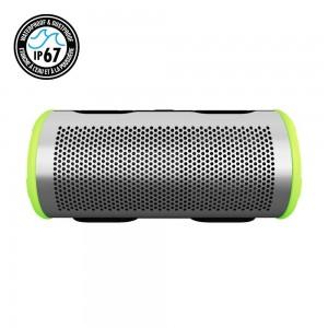 Купить Водонепроницаемая портативная колонка Braven Stryde 360 Degree Sound Waterproof Bluetooth Speaker Silver/Green (BBRVFCSG)