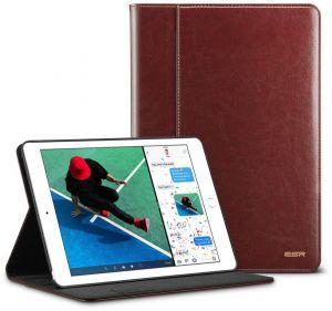 Купить Кожаный чехол с держателем для Apple Pencil ESR Intelligent Brown iPad Pro 10.5