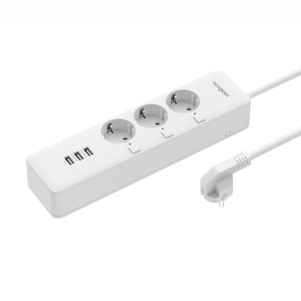 Умный удлинитель Koogeek Smart Outlet HomeKit White (O1EU)