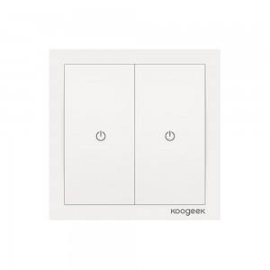 Купить Умный выключатель Koogeek Two Gang Smart Light Switch HomeKit White (KH02CN)