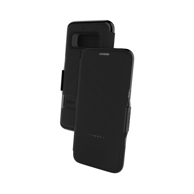 Чехол-книжка GEAR4 Samsung Galaxy S8 Oxford Black (SGS8034D3)