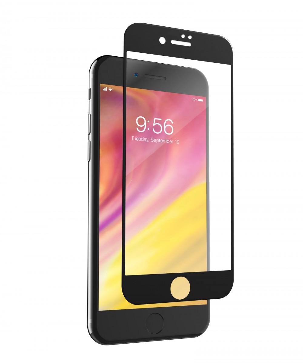 Защитное стекло InvisibleShield Glass Curve - Apple iPhone 8/7 - Screen - Black Black (200101460)