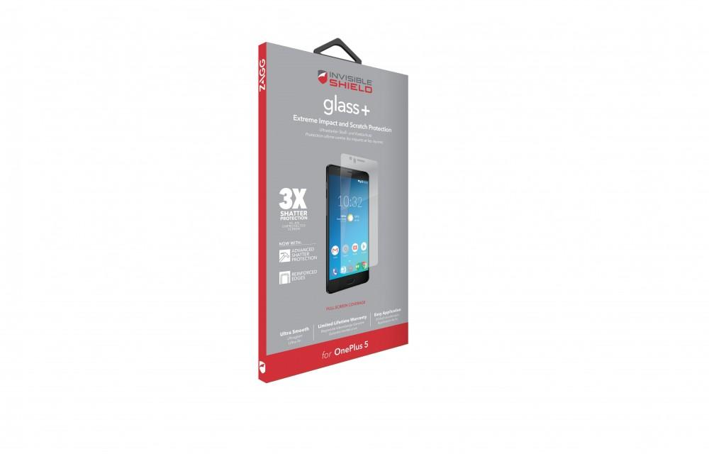 Защитное стекло InvisibleShield Glass+ OnePlus 5 - Screen Clear (200101042)