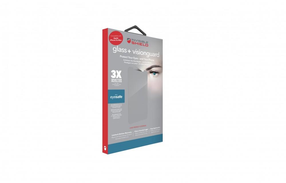 Защитное стекло InvisibleShield Glass+ VisionGuard - Apple iPhone Xs Max - Case Friendly-Screen Clear (200102216)