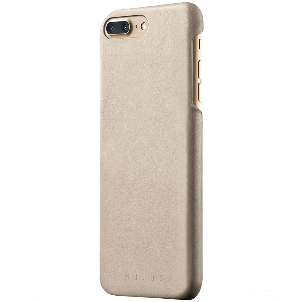 Кожаный чехол MUJJO Leather Case iPhone 8 Plus/7 Plus Champagne (MUJJO-CS-029-CH)