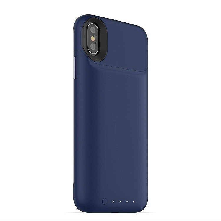 Чехол-аккумулятор mophie juice pack air iPhone X Blue (401002007)