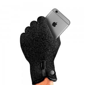 Купить Сенсорные перчатки MUJJO Double-Layered Touchscreen Gloves - Size L Black (MUJJO-GLKN-012-L)