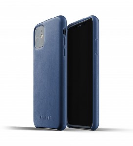 Купить Кожаный чехол MUJJO Full Leather Case Monaco Blue IPhone 11 (MUJJO-CL-005-BL)