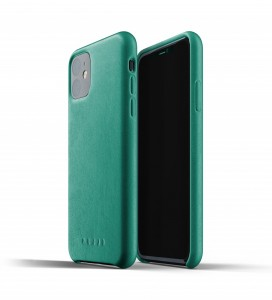 Купить Кожаный чехол MUJJO Full Leather Case Alpine Green IPhone 11 (MUJJO-CL-005-AG)
