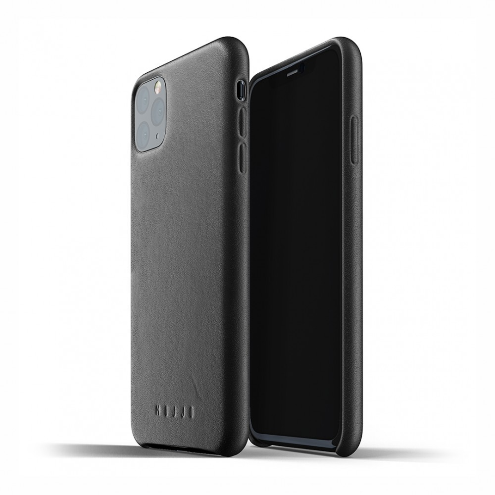 Кожаный чехол MUJJO Full Leather Case Black iPhone 11 Pro Max (MUJJO-CL-003-BK)