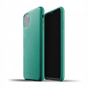 Купить Кожаный чехол MUJJO Full Leather Case Alpine Green iPhone 11 Pro Max (MUJJO-CL-003-AG)