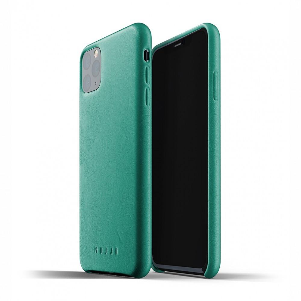 Кожаный чехол MUJJO Full Leather Case Alpine Green iPhone 11 Pro (MUJJO-CL-001-AG)