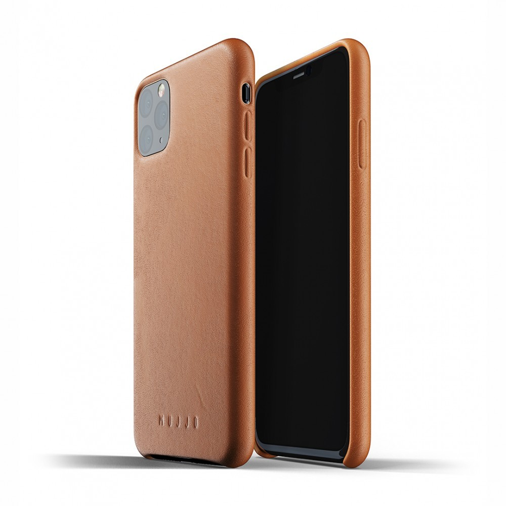 Кожаный чехол MUJJO Full Leather Case Tan iPhone 11 Pro Max (MUJJO-CL-003-TN)