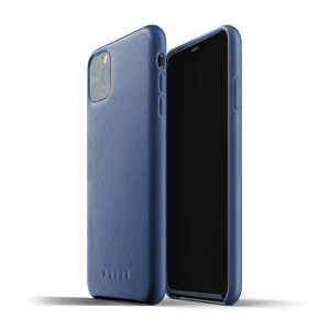 Купить Кожаный чехол MUJJO Full Leather Case Monaco Blue iPhone 11 Pro Max (MUJJO-CL-003-BL)