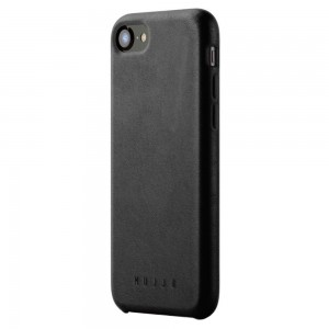 Купить Кожаный чехол MUJJO Full Leather Case iPhone 8/7 Black (MUJJO-CS-093-BK)