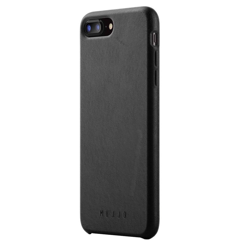 Кожаный чехол MUJJO Full Leather Case iPhone 8 Plus/7 Plus Black (MUJJO-CS-094-BK)